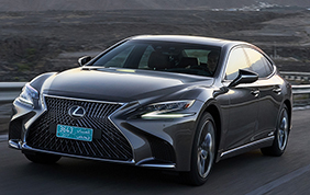 Lexus LS Hybrid: ibrido e orientale!