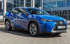 Lexus UX 300e il SUV full electric