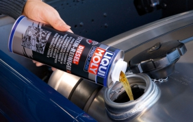 La migliore marca di olio si chiama LIQUI MOLY