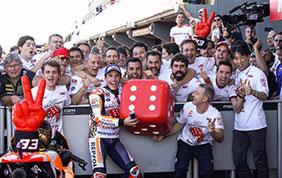 Marc Marquez Campione del Mondo MotoGP 2017