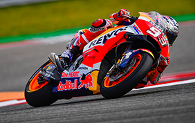 Re Marc Marquez domina il GP d'America