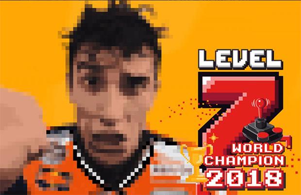 Marc Marquez Campione del Mondo MotoGP