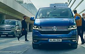 Cambia il logo Volkswagen Veicoli Commerciali