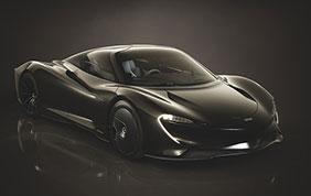 McLaren Speedtail: collezioni personalizzabili