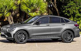 Mercedes-AMG GLC 43 Coupé e SUV: maxi power