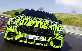 Mercedes-AMG GT quattro porte: partono i primi test su strada