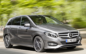 Mercedes-Benz Classe B TECH: sempre connessa