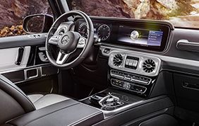 Nuova Mercedes-Benz Classe G: interni premium