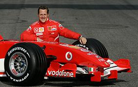Freddezza e lucidità d'azione: Michael Schumacher