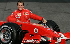 Un Michael Schumacher cosciente
