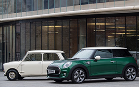 Mini 60 years edition: stile britannico e spirito sportivo