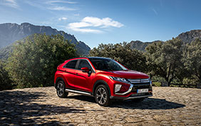 Una Mitsubishi Eclipse Cross vincente