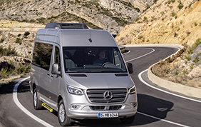 Mercedes-Benz presenta la terza generazione di Sprinter