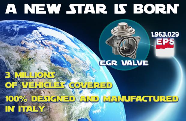 Nasce una nuova stella nella galassia dei prodotti EPS: la valvola EGR!