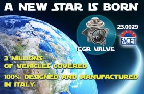 Nasce una nuova stella nella galassia dei prodotti Facet: la valvola EGR!