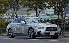 Nissan sperimenta la guida totalmente autonoma sulle strade di Tokyo