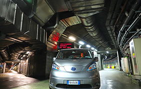Una Nissan e-NV200 Evalia per l'Istituto Nazionale di Fisica Nucleare