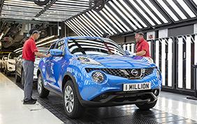 Prodotto il milionesimo Nissan Juke