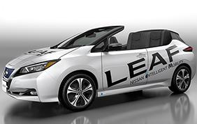 Nissan Leaf Open Car: scoperta ed elettrica