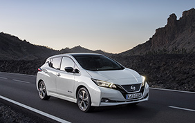 Nissan leader nella classifica della mobilità elettrica in Italia