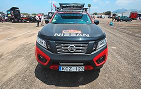 Una Nissan Navara per il Rally Dakar