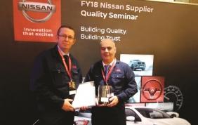 A Nissan piacciono i cuscinetti per mozzi ruota di NSK