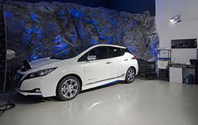 Nissan sperimenta una nuova frequenza di connessione ad alta velocità