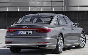 Audi al NIPS presenta le sue soluzioni sulla nuova A8