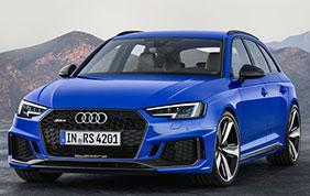 Nuova Audi RS 4 Avant pronta per esser commercializzata in Italia