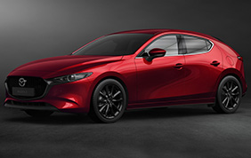 Nuova Mazda3: l'ibrida benzina