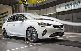 Massima cura aerodinamica per la nuova Opel Corsa