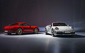 Nuova Porsche 911 Carrera Coupé e Cabriolet