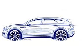 Nuova Volkswagen Touareg: il maxi SUV pronto all'anteprima mondiale di Ginevra