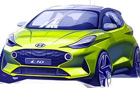 Nuova Hyundai i10 Model Year 2019