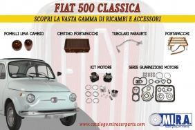 Fiat 500 - Scopri la vasta gamma di ricambi e accessori