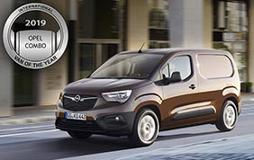 Il nuovo Opel Combo Van of the Year 2019