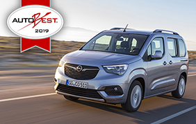 Opel Combo Life Best buy Car of the Europe 2019