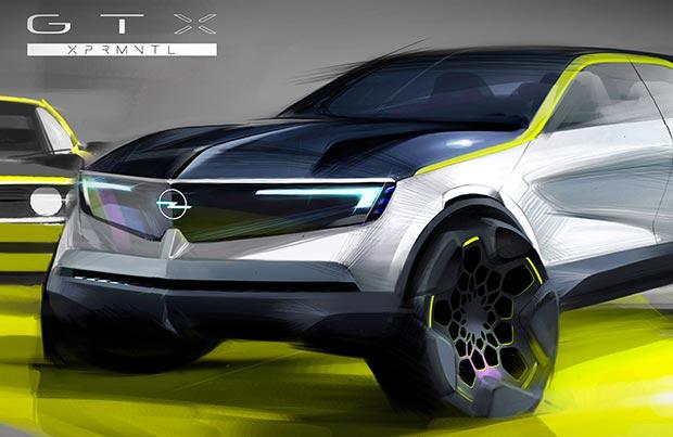 Opel GT X Experimental: moderna ed innovativa