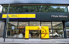 Opel inaugura la sua nuova filiale di Milano