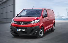 Opel: al via gli ordini per il nuovo Vivaro