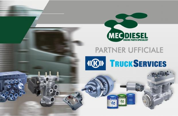 Mec-Diesel è distributore ufficiale di Knorr-Bremse