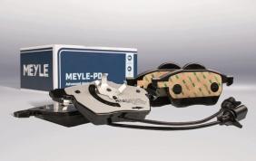Pastiglie freno MEYLE-PD con mescola di attrito tecnicamente avanzata