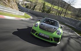 Al Nurburgring nuovo record per la Porsche 911 GT3 RS