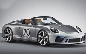 Porsche 911 Speedster Concept: anteprima del model year 2019