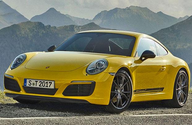 Nuova Porsche 911 Carrera T: peso ridotto, massime prestazioni