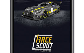 Race Scout l'app racing by Mercedes-Benz