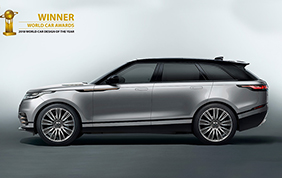 Range Rover Velar conquista il titolo di World Car Of The Year 2018