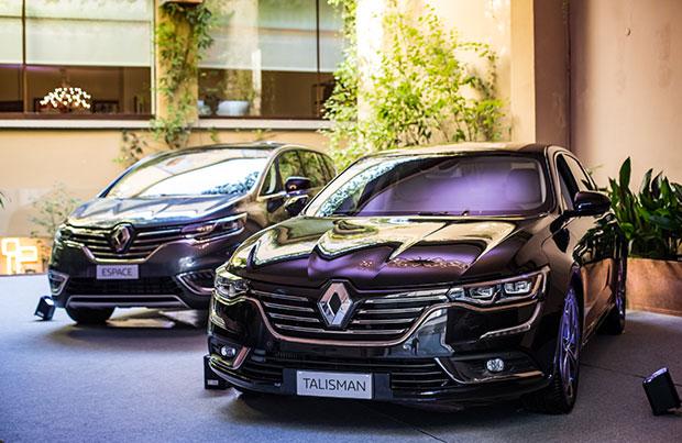 Renault gamma Executive: tecnologia e business
