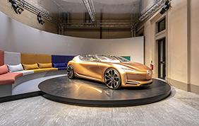 Al Salone del Mobile di Milano, Renault espone la Symbioz
