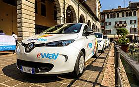 E-Way: il car sharing elettrico!